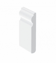 Swish UPVC Skirtings 95mm x 5M x 12mm thick Ogee