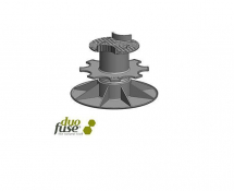 Decking Pedestal 110-150mm Black (BOX OF 40)