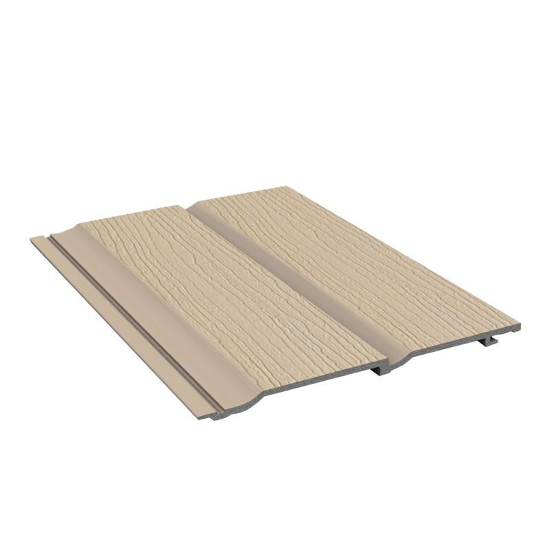 Durasid Exterior Wall Cladding Original Camel Embossing 333mm x 5M (Pack Of 2)
