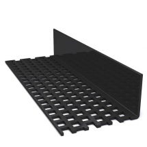 DURASID VENT STRIP       BLACK