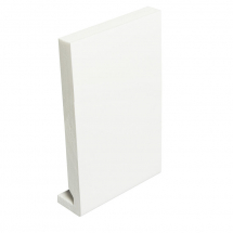 Square PVC Fascia board 225mm x 16mm x 5M White