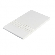 Vented Pvc Soffit Board  300mm x 9mm x 5M White