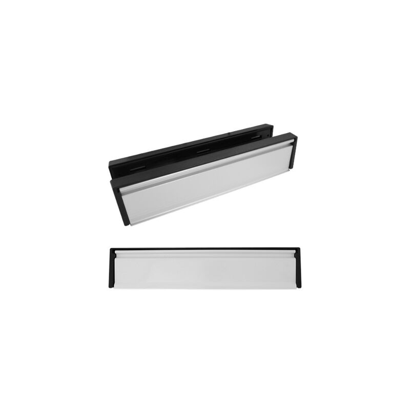 Letterbox Anodised Silver 12Inch