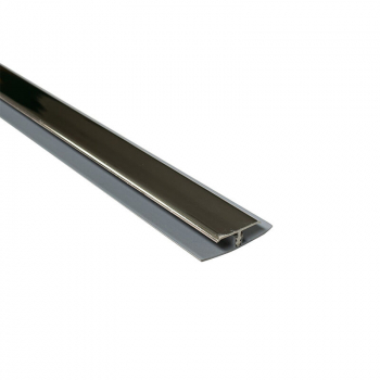 8mm CENTRE JOINT(2 PART)CHROME 2.6M LENGTH    (PICK 2 PIECES)