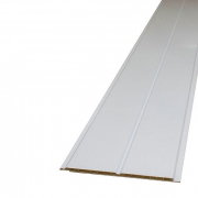 Gloss White V Groove 200mm x 4M x 8mm