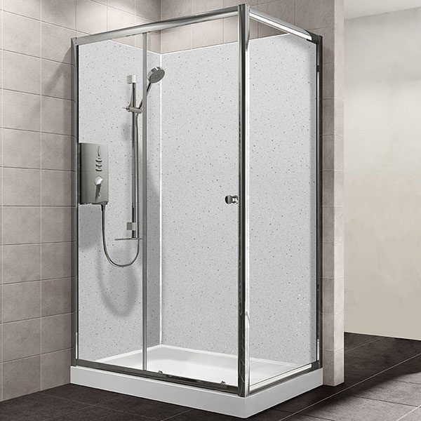 Maxi Panel  White Sparkle 1200mm x 2400mm x 10mm