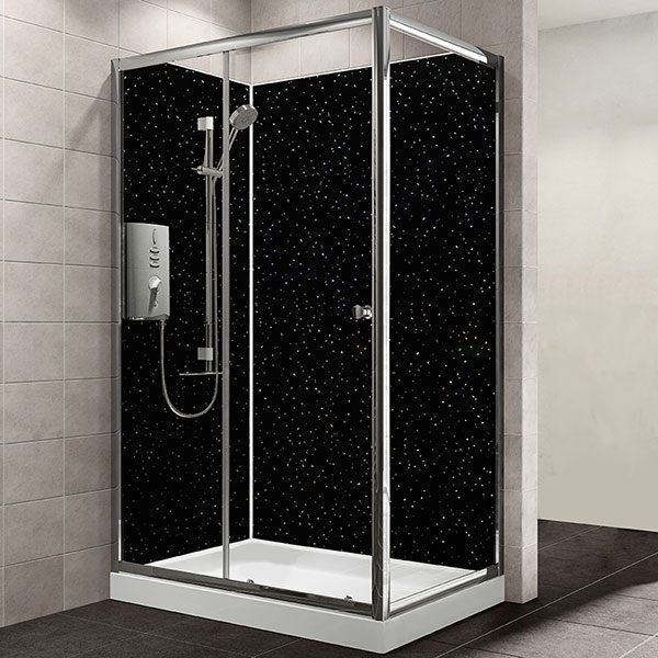Maxi Panel Black Sparkle 1200mm x 2400mm x10mm