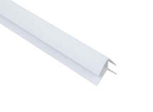 Internal / External Corner 2 Part Trim White 2.6M x 8mm Thick