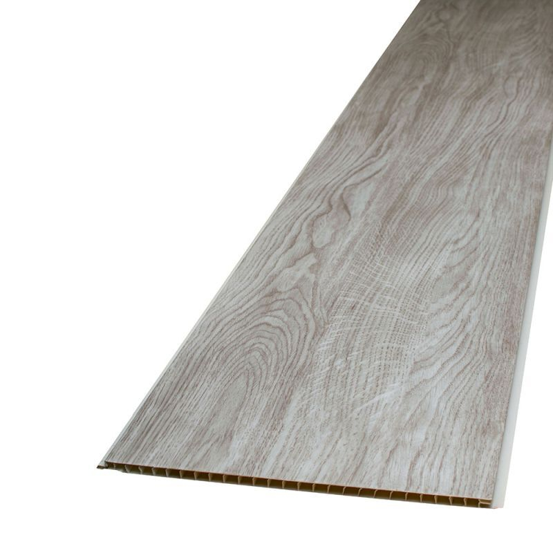Elegance Chalk Elegant Oak 250mm x 2.7M x 8mm