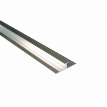 Maxi Panel Centre Joint / H- joint Polished Chrome 2400mm  Metal