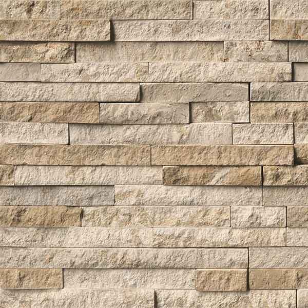 Dumapan SMP Bilbao Masonary Beige Wall Panel 375mm x 2.6M (PACK OF 4 ) 3.9 SQM