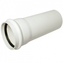Single Socket Pipe Soil 3M White