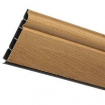 Ogee Plastic Skirting Board 150mm x 5M x 15mm English Oak