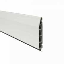 Chamfered Skirting Board White Satin 100mm x 5M