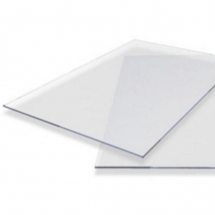 SOLID 5mm POLYCARBONATE CLEAR 2050 x 3050 x 5mm