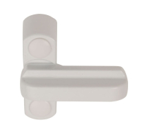 Sash Jammer Non-Locking (White)